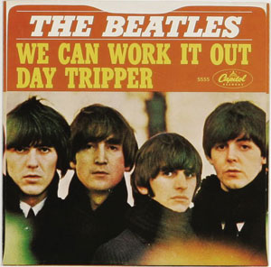 Beatles 45s To Make You Twist and Shout