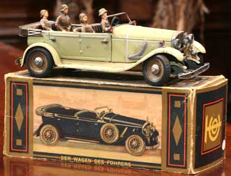 Historic Auto Racing on An Interview With Antique Toy Model Car Collectors Ron Sturgeon And