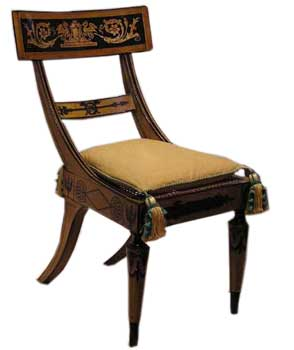 Federal Side Chair Baltimore, c. 1815-1820