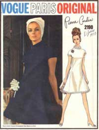 1960s Vogue pattern