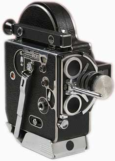Paillard-Bolex H16, c. 1952, 16mm motion picture camera