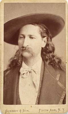 Wild Bill Hickok CDV, by Gurney & Son; $14,000.