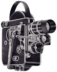 Hollywood at Home: Vintage Bolex Movie Cameras