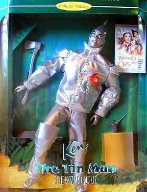 Hollywood Legends Ken as the Tin Man in The Wizard of Oz #14902 1995