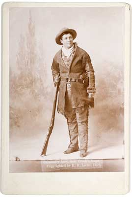 Fine Cabinet Photograph of Calamity Jane; $9,500.