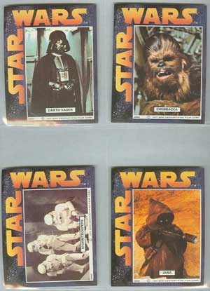 1977 cereal sticker set