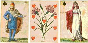 1978 Fascimile of Johann Hieronymus Loschenkohl's 1806 Botanisches Kartenspeil (Botanical Playing Cards)
