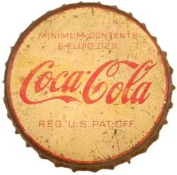 Coca-Cola bottle cap