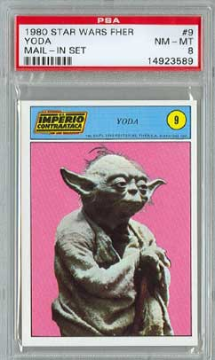 1980 Yoda card
