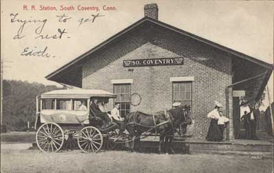 R.R. Station, South Coventry, Conn., 1900s, Unknown Artist, The Metropolitan Museum of Art, Walker Evans Archive, 1994