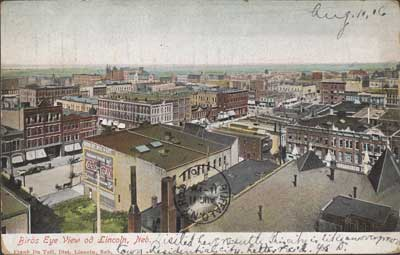 Birds Eye View of Lincoln, Neb., ca. 1906, Unknown Artist, The Metropolitan Museum of Art, Walker Evans Archive, 1994