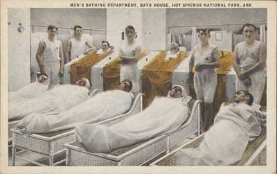 Men's Bathing Department, Bath House, Hot Springs National Park, Ark., 1920s, Unknown Aritst, The Metropolitan Museum of Art, Walker Evans Archive, 1994