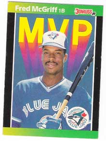 Fred McGriff card