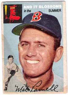 boston red sox card