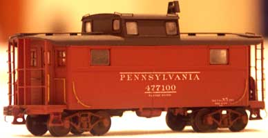 2007 National Convention Contest Winner, John Johnson: PRR N5 cabin cars