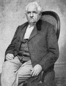 1. Daniel Pratt (1797-1874), Reading, Massachusetts, clockmaker. From a photograph owned by his great-granddaughter.