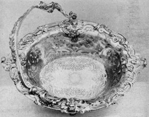 George II cake basket, 1745-1746, Paul Lamerie, London