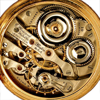 E. Howard Co. Series 5 Second model movement