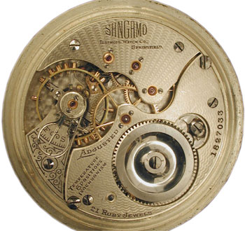 Illinois Watch Co. Sangamo movement