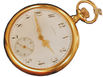 The McIntyre Watch Co. 12 size pocket watch
