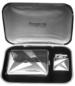 Ronson Standard with Cigarette Case