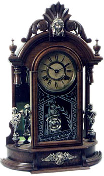 Triumph by Ansonia Clock Co., New York, NY ca. 1880 - 1900s