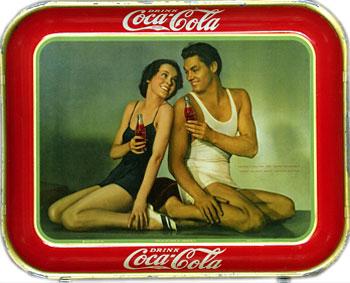 Coca-Cola Tray 1945