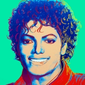 In August, 2009, a portrait of Michael Jackson by Andy Warhol sold more more than $1 million.