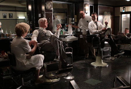 Roger Sterling (John Slattery) and Don Draper (Jon Hamm) in Episode 6.