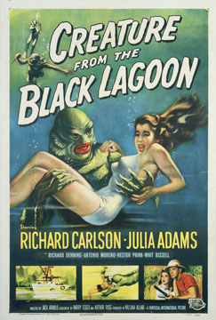 Creature from the black lagoon, Reynold Brown