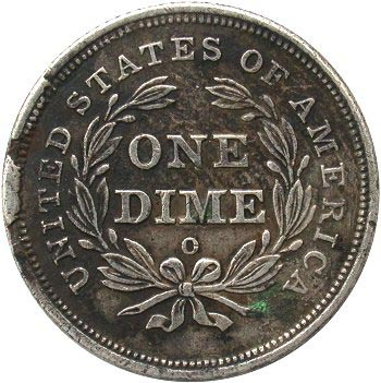 1840 Rim Cuds at 9:00 and 10:00, Small O as in 1839