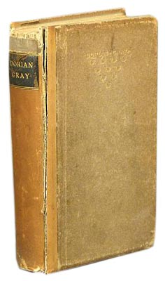 "Oscar Wilde's only published novel was ""The Picture of Dorian Gray,"" which is one reason why even a battered first edition like this one from 1891 is collectible."