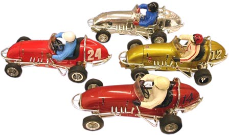 Monogram's Midget Racers were made in the same 1/24th scale as many other slot cars.