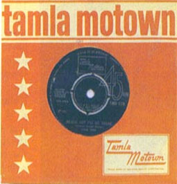 Records on the Tamla Motown label were among the most played 45s at The Twisted Wheel.