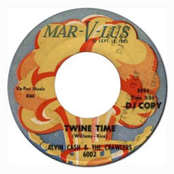 """Twine Time"" by Alvin Cash & the Crawlers was an immediate hit on the northern soul circuit."
