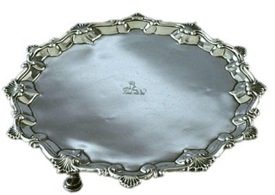 Salver or Tray, 1759-1760