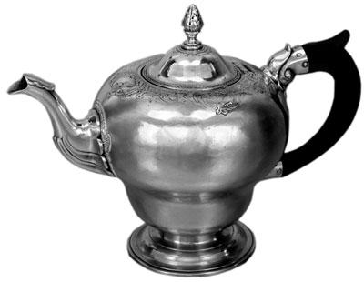 Teapot, ca. 1760