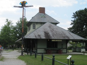 Shelburne Depot at the Shelburne Museum