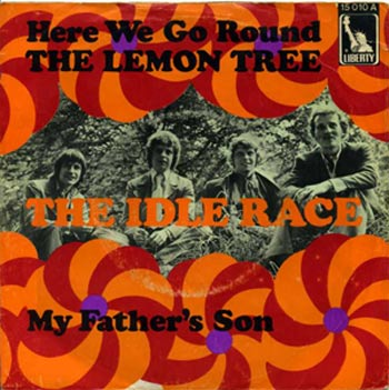 The Idle Race was Jeff Lynne's Beatles-influenced group before he joined the Move and Electric Light Orchestra. This German single is from 1967.