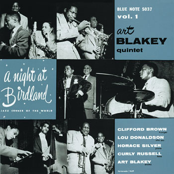 """A Night At Birdland Vol. 1"" was the first of three live recordings made at the New York City club in 1954."