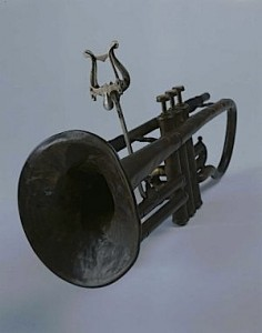 Dunbar has handled non-sports items, too, such as Louis Armstrong's cornet from 1912, which is now at the Smithsonian.