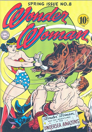 "A psychologist named William Marston created ""Wonder Woman"" to give girls a strong role model."