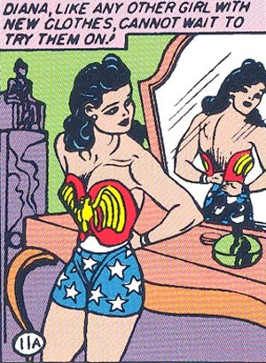 Like many superheroes, Wonder Woman had a civilian identity. In real life, she was Diana Prince.