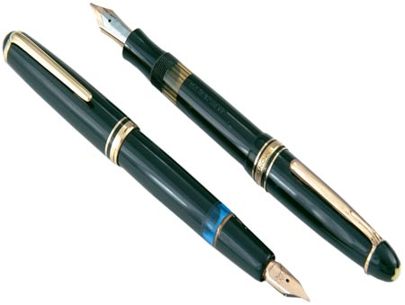 "This Montblanc No. 256 store display pen, marked ""Unverkauflich"" (""not for sale"") is also from the collection of Barry Gabay. Photo courtesy of ""Pen World."""