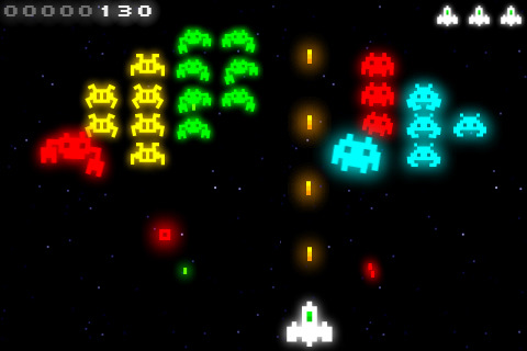 Radiant is a variation on Galaxian for the iPhone and iPad.