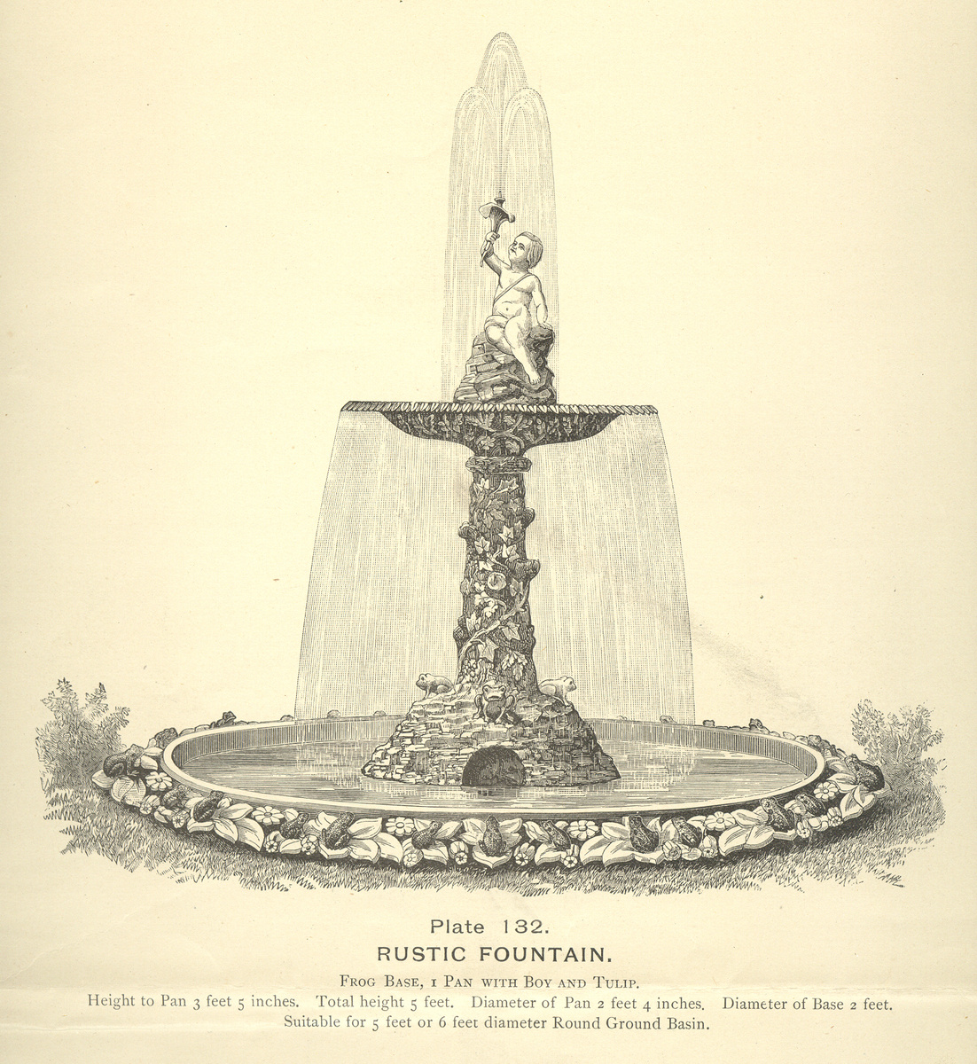 Mott Iron Works Fountain