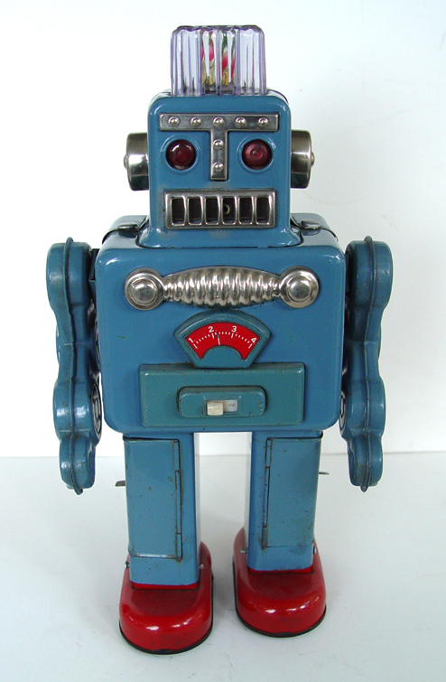 Attack of the Vintage Toy Robots! Justin Pinchot on Japan's Coolest Postwar Export