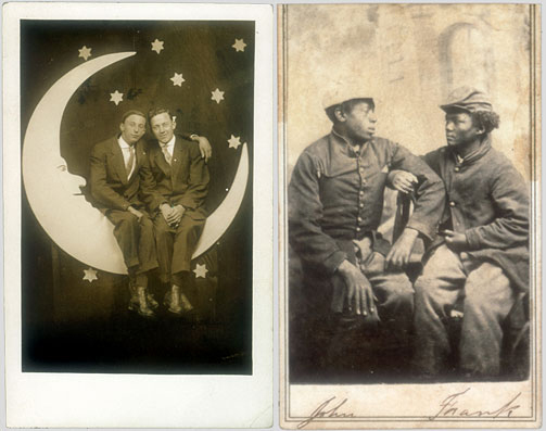 "Images from ""Dear Friends: American Photographs of Men Together, 1840-1918"" by David Deitcher"