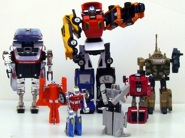 Like a lot of kids, Wilson played with Gobots and Transformers when he was young.