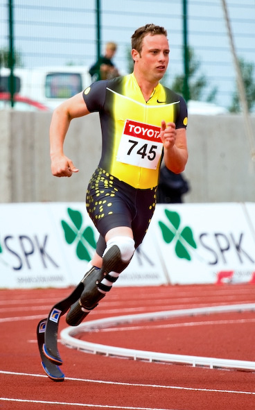 Oscar Pistorius has been called the fastest man on no legs.